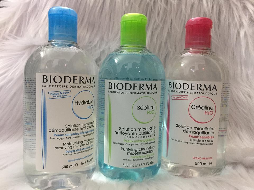 Nuoc tay trang Bioderma